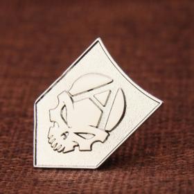 Ghost Face Custom Enamel Pins