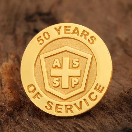 ASSP Service Enamel Pins