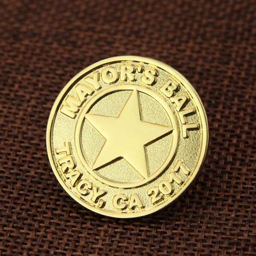 Mayor's Ball Custom Enamel Pins