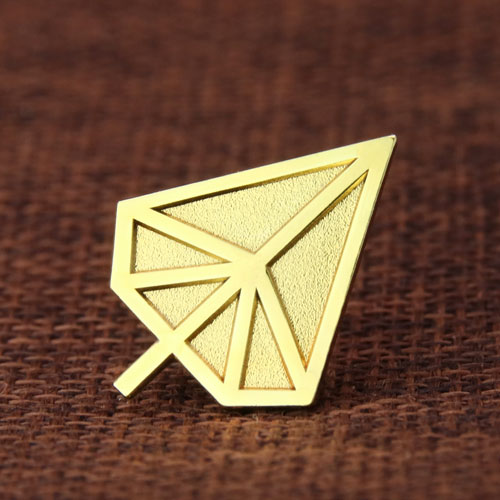 Gold tree enamel pins