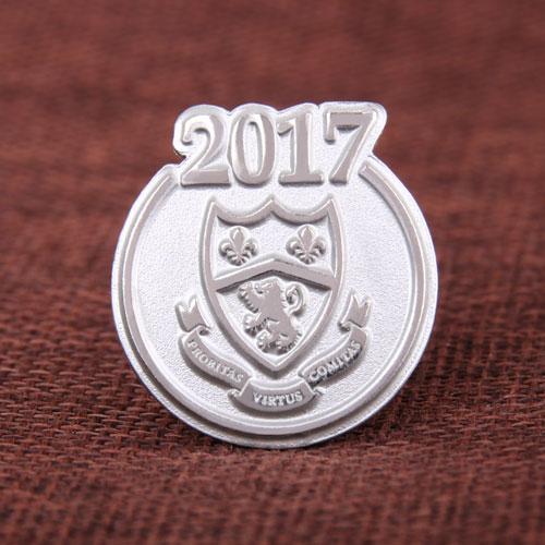 Ashbury College Custom Enamel Pins