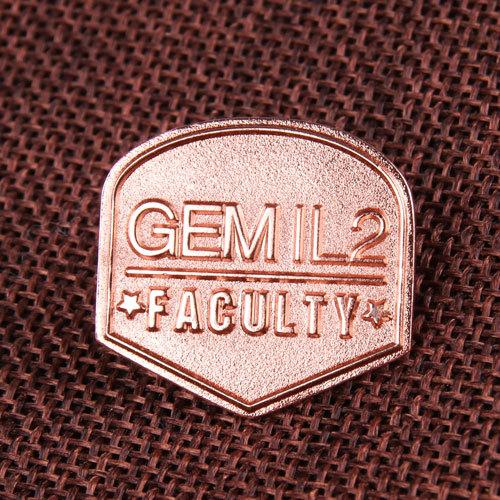 Faculty Custom Enamel Pins