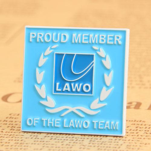 LAWO Enamel Pins