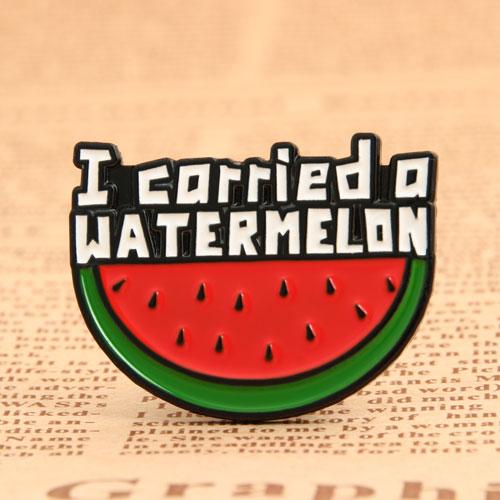 Watermelon Enamel Pins