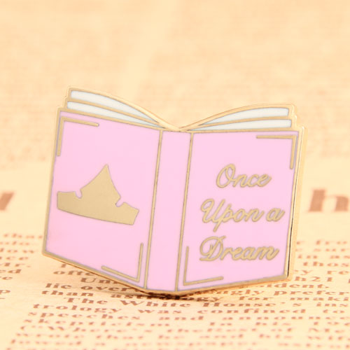 Custom Book Enamel Pins