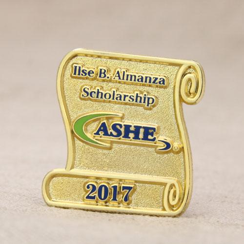 ASHE Custom Lapel Pins No Minimum