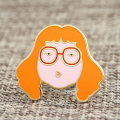 Custom Girl Enamel Pins