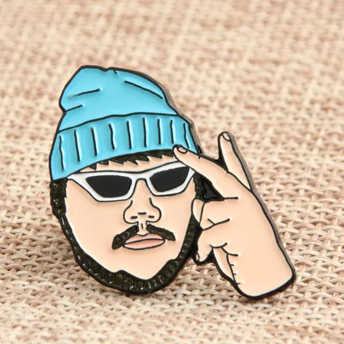Rapper Enamel Pins
