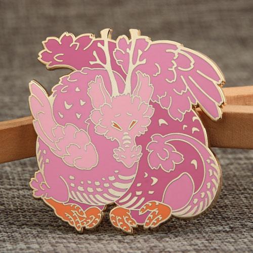 Custom Dragon Enamel Pins