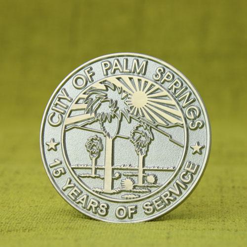 City of Palm Springs Enamel Pins