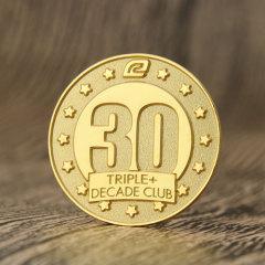 Decade Club Custom Enamel Pins