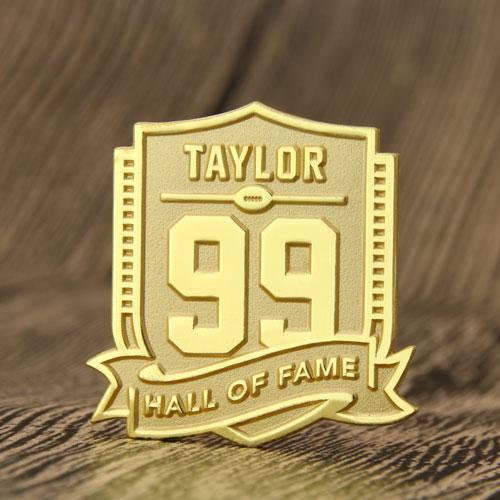 Hall of Fame Custom Enamel Pins