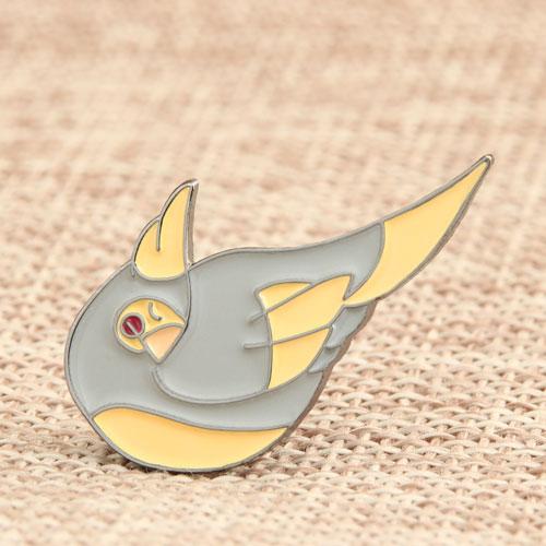 Parrot Enamel Pins