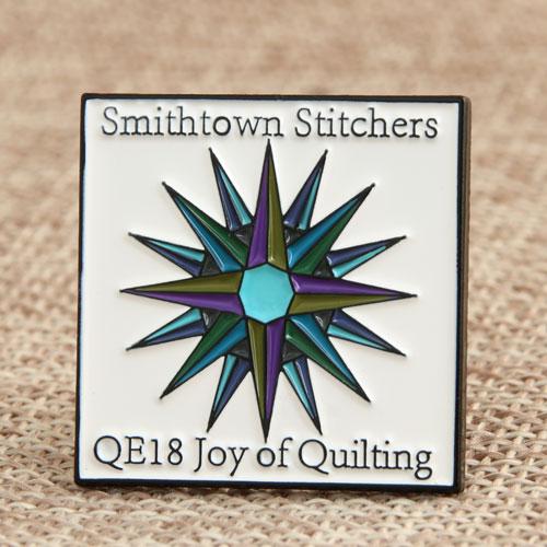 Smithtown Stitchers Enamel Pins