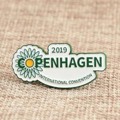 COPENHAGEN Enamel Pin