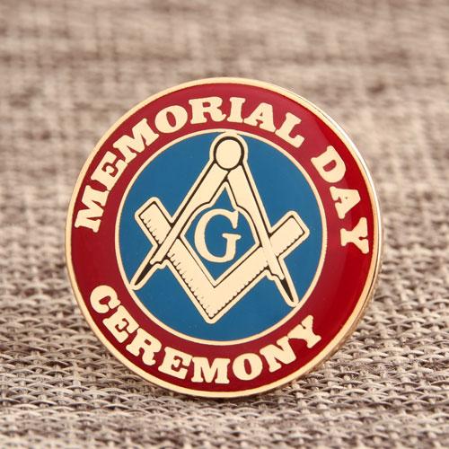 Memorial Day Enamel Pins