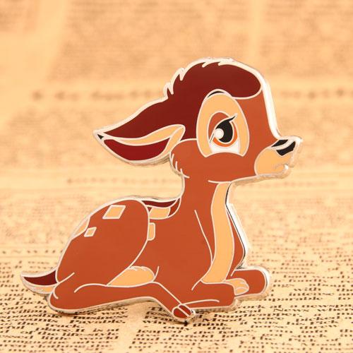 Custom Bambi Enamel Pins