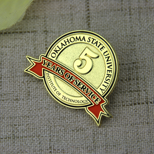 Oklahoma State University Enamel Pins