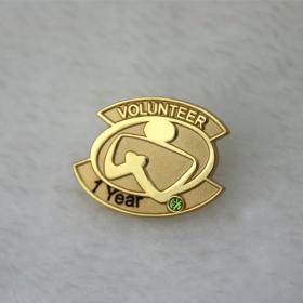 Enamel Pins for Volunteer