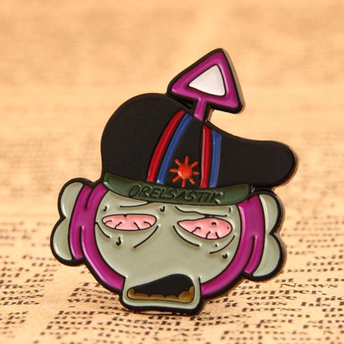 Cartoon Custom Enamel Pins