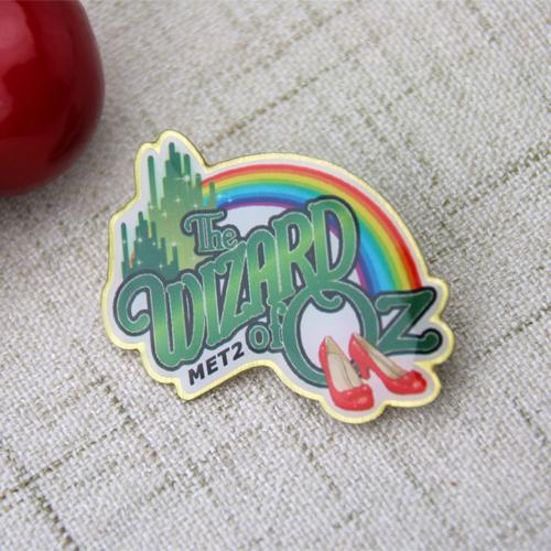 Custom Rainbow Bridge Pins