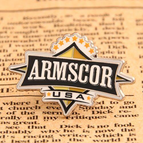 Custom Armscor Enamel Pins