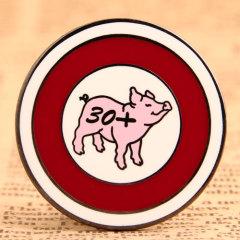 Pig Custom Enamel Pins