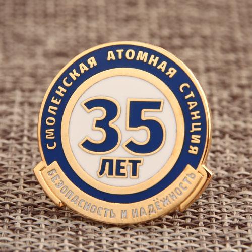 Commemorative Enamel Pin