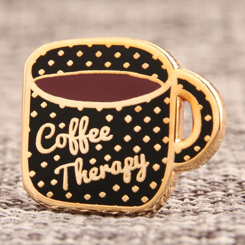 Coffee Therapy Enamel Pins