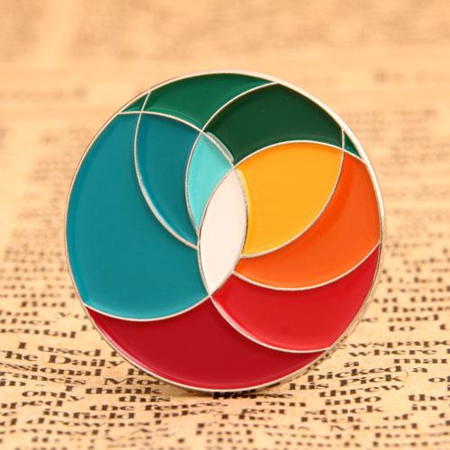 Custom Colorful Pins
