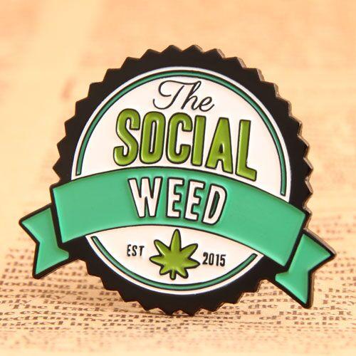 Custom Social Pins