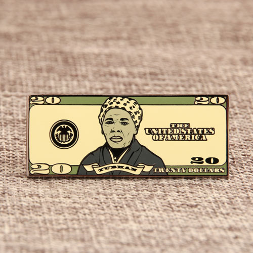 20 Dollars Enamel Pins
