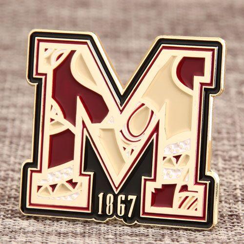 Custom M 1867 Pins