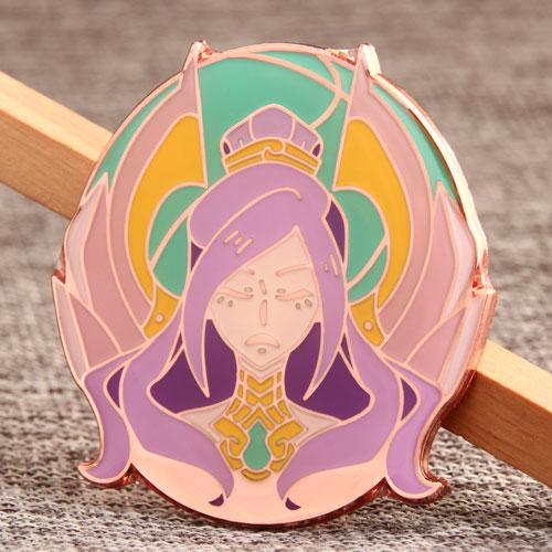 Custom Castle Queen  Pins
