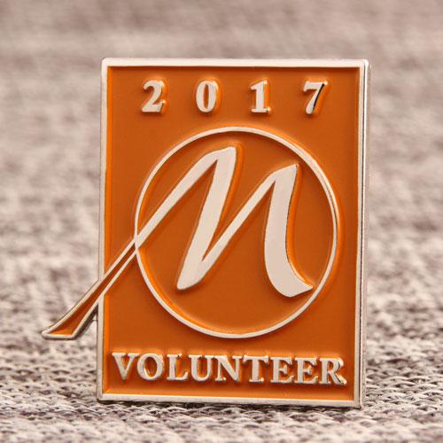 Custom 2017 Volunteer Pins