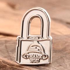 Custom Lock Enamel Pins