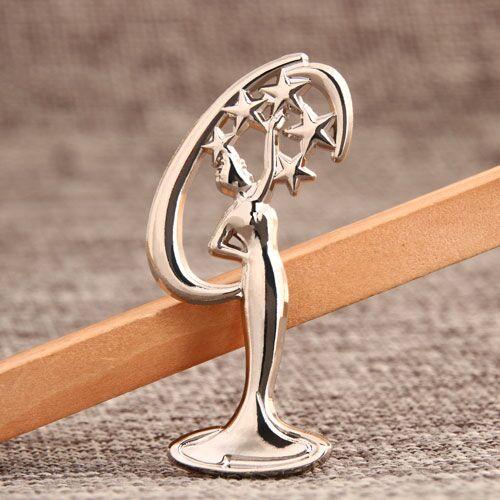 Statue Custom Enamel Pins