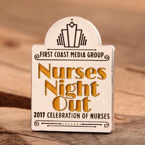Nurses Night Out Enamel Pins