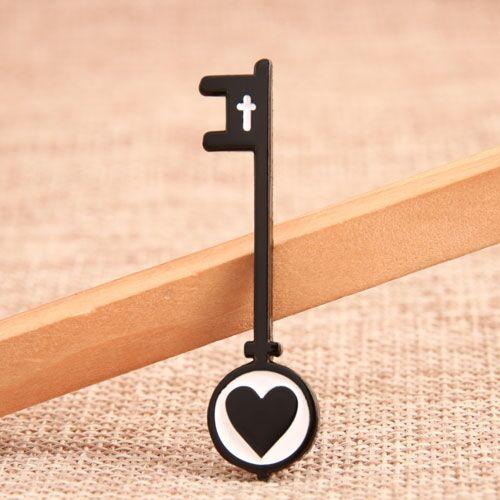 Custom Love Key Pins
