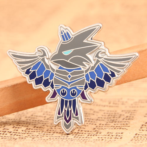 Flying Bird Enamel Pins
