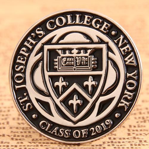 Custom College New York Pins