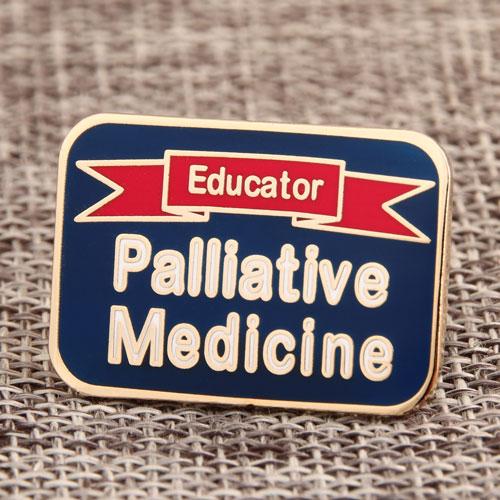 Palliative Medicine Enamel Pin