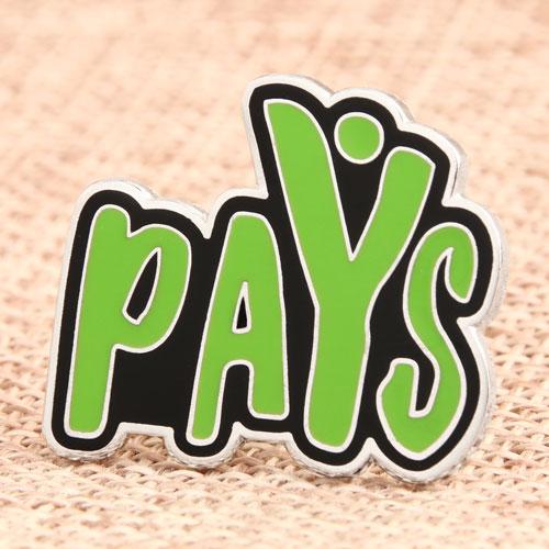 Pays Enamel Pins