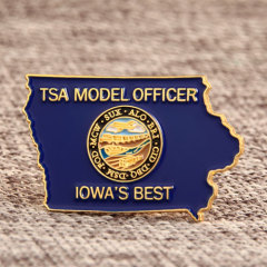 TSA Custom Enamel Pins