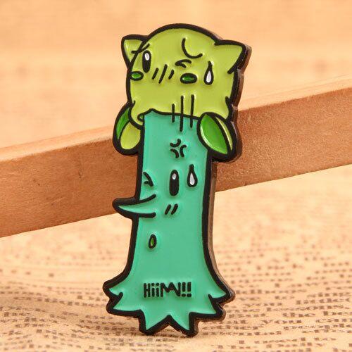 Custom Cartoon Tree Pins