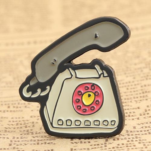 Antique Telephone Enamel Pins