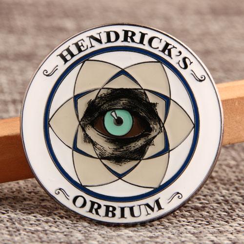HENDRICK'S Shirt Enamel Pins