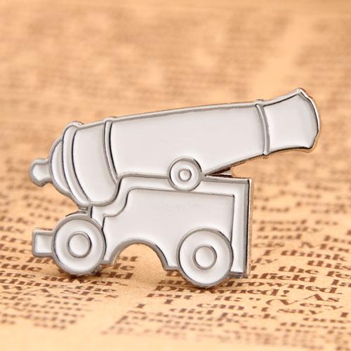 Custom Cannon Lapel Pins