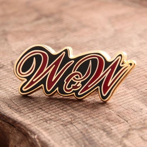 WQW Enamel Pin