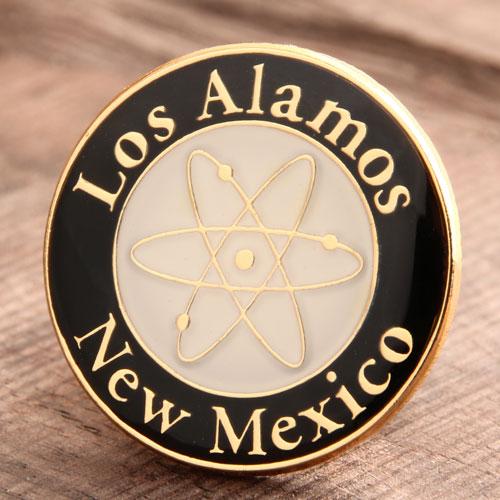 Custom Los Alamos Pins